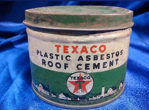 Asbestos Roof Cement