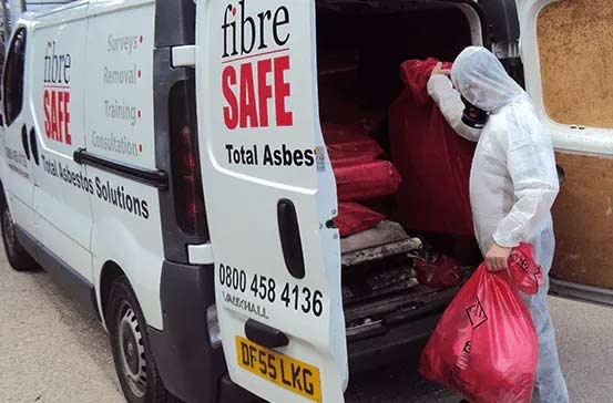 Asbestos Waste Collection