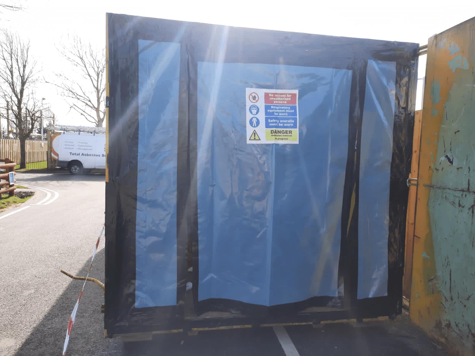 north wales -holiday park asbestos management